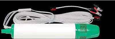 12V Unterwasserpumpe / Probenahmepumpe Typ CY30 bis 8 L/min, 8 m Förderhöhe