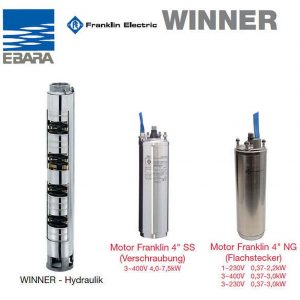 Ebara Winner 4N 1-12, 400V Version