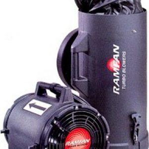 Ramfan UB20 Ex-geschütztes tragbares Mehrzweckgebläse (20 cm), 230V mit 4,6 m Schlauch