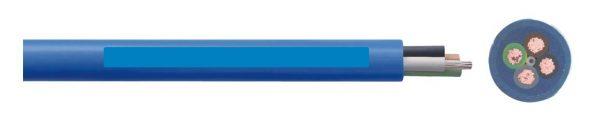 Trinkwassertaugliches Unterwasserkabel für 230V Pumpen (3-adrig), 3 x 1,5mm2, Preis je Meter